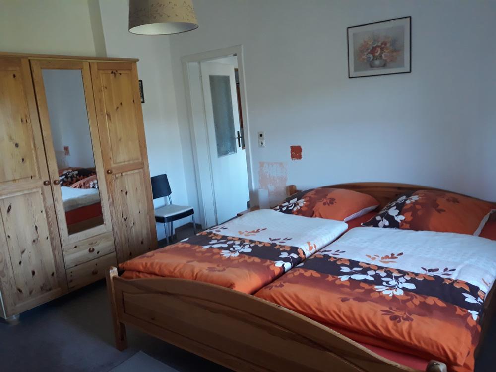 Fewo1 Schlafzimmer